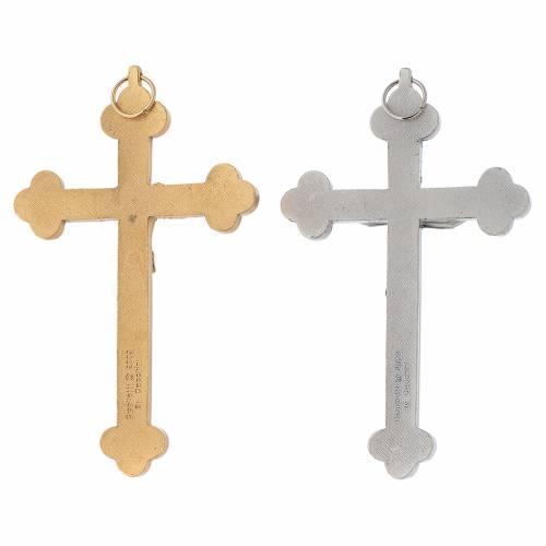 Crucifijo dorado o plateado S.santo una, cáliz, espigas s2