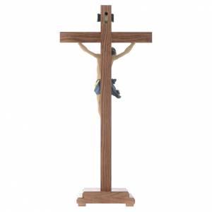 Crucifix à poser bois Ancien Or mod. Corpus s4