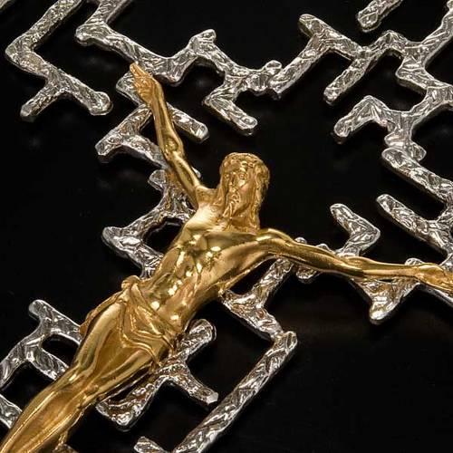 Crucifix moderne en bronze s3