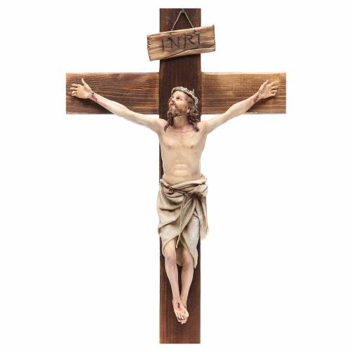 Crucifix terre cuite 45x24 cm Angela Tripi s4