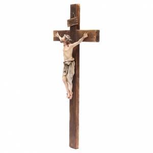 Crucifix terre cuite 45x24 cm Angela Tripi s3