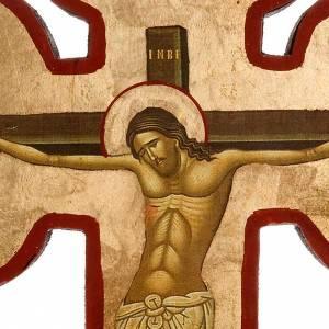 Íconos en cruz: Cruz estampada Gólgota