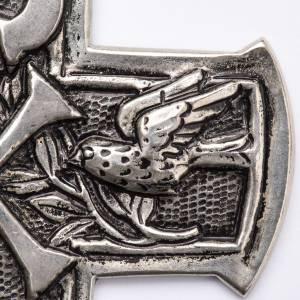 Artículos Obispales: Cruz Pectoral con símbolo XP de plata 800