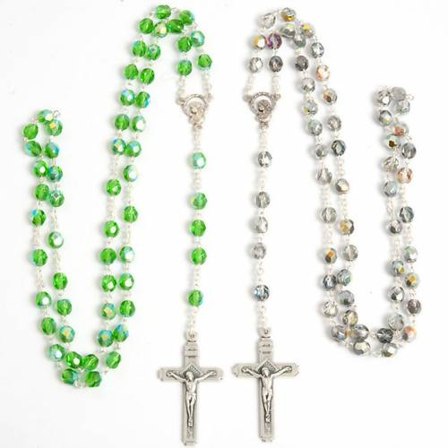 Crystal effect rosary s1