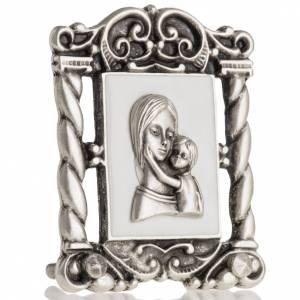 Cuadro de María y  el Niño Jesús 6x5 cm s3