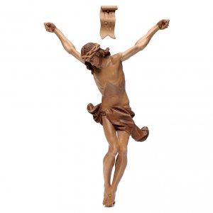 Cuerpo de Cristo modelo Corpus, madera Valgardena varias patinad s1