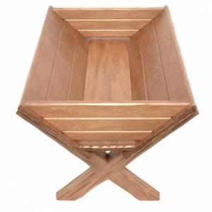 Culla legno per Gesù Bambino legno Valgardena s1
