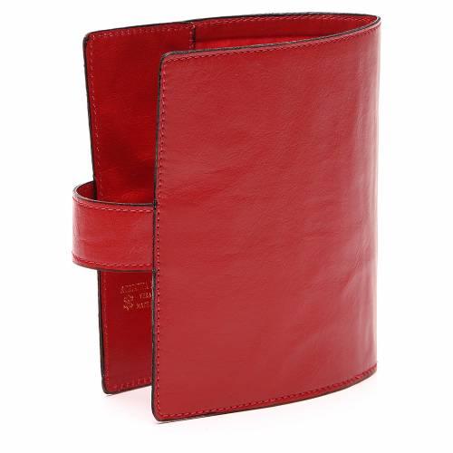 Custodia Bibbia Gerusalemme tascabile rossa s3