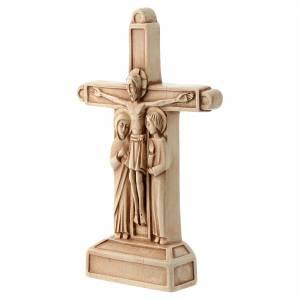 Kruzifixe aus Stein: Die Kreuzigung elfenbeinfarben