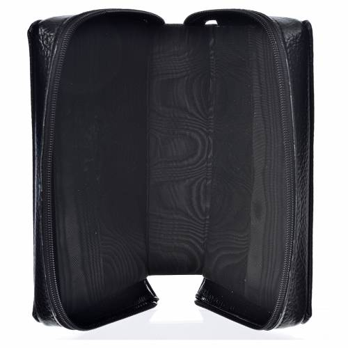 Divine office cover, black bonded leather s3