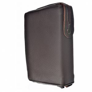 Divine office cover, brown genuine leather s2