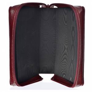 Divine Office covers: Divine office cover burgundy bonded leather Holy Family