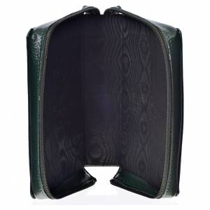 Divine Office covers: Divine Office cover in green bonded leather