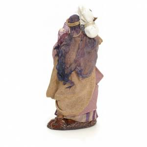 Donna araba con sacco cm 8 presepe napoletano s3