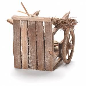 Dustman cart, Neapolitan Nativity 12x20x8cm s3