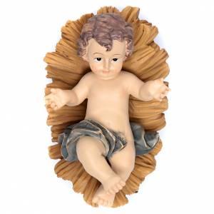Figury Dzieciątko Jezus: Dzieciątko Jezus żywica kołyska