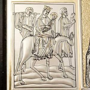 Deckel für Messbücher: Einband Messbuch mit Platte Kristus Pantocratore