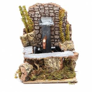 Fountains: Electric fountain for nativities 14x10x15cm