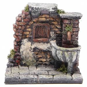 Fountains: Electric fountain for nativities in resin 13x13x12cm