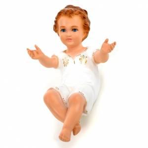 Enfant Jésus 27cm yeux en cristal Landi s1