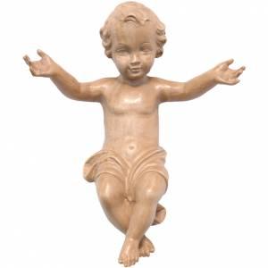 Enfant Jésus bois patiné s1