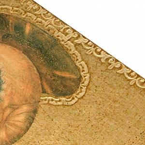 Estampa en madera Santa Lucia s2