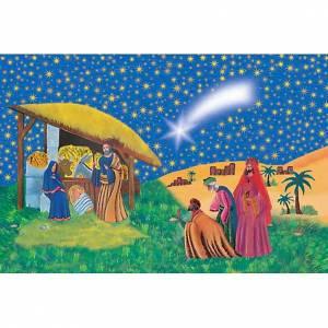 Estampa Natividad con los Reyes Magos s1