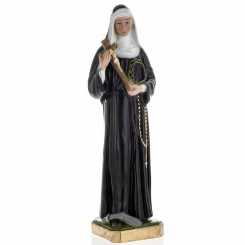Estatua Santa Rita de Casia 60 cm. yeso s1