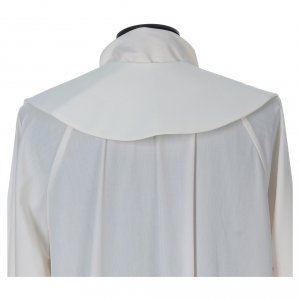 Estola 100% poliéster Ave María y bordado mariano s5