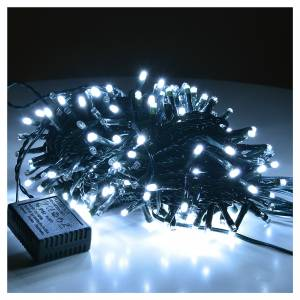 Christmas lights: Fairy lights 300 LED, ice white, for indoor and outdoor use