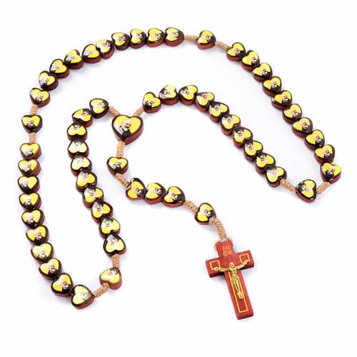 Father Pius- Mother Mary multi-image rosary s3