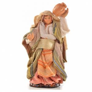 Crèche Napolitaine: Femme arabe au broc crèche Napolitaine 6 cm