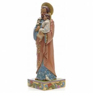 Figurine de St Joseph à l'enfant de Jim Shore s2