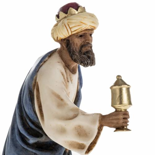 Figurines for Landi nativities, three Wise Kings 11cm s4