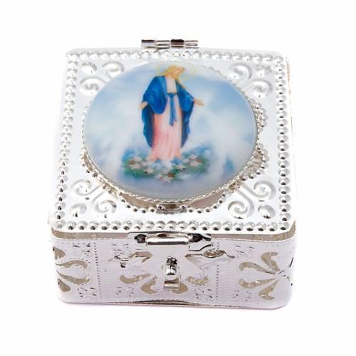 Filigree porcelain square box s4