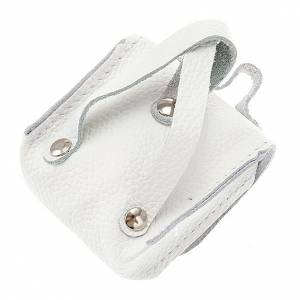 Rosary cases: First Communion hand-bag leather rosary case