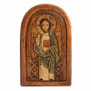 Sonstige Basreliefs: Flachrelief Jesus der Meister