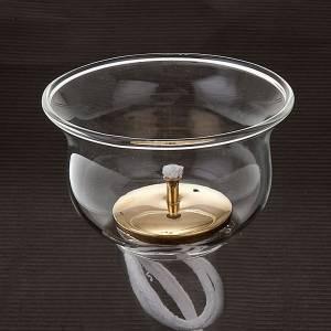 Flame de Sanctuaire verre et mèche s3