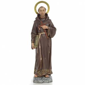 Francis of Assisi wooden paste 40cm, fine finish s1