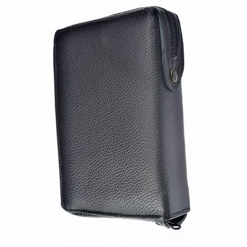 Funda Biblia CEE grande cuero negro S. Familia s2