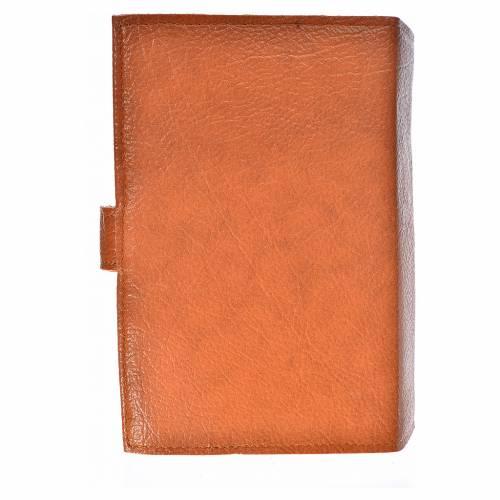Funda Biblia Jerusalén Nueva Ed. simil marrón S. Familia s2