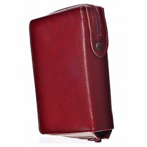 Funda Biblia Jerusalén Nueva Edición burdeos simil cuero s2