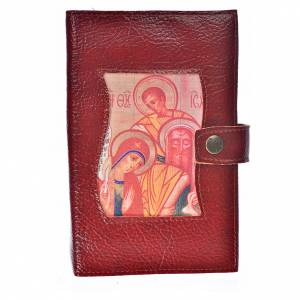 Funda Sagrada Biblia CEE ED. Pop. simil cuero burdeos s1