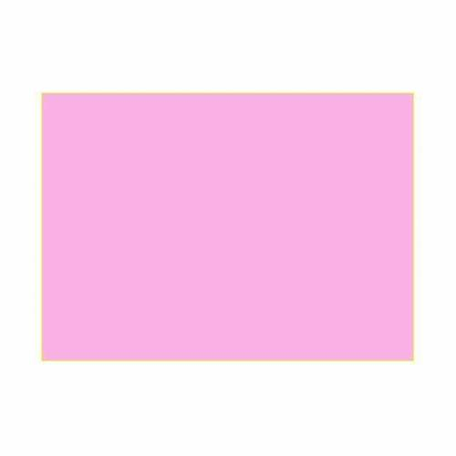Gelatina per lampade 25x30 cm rosa acceso s1