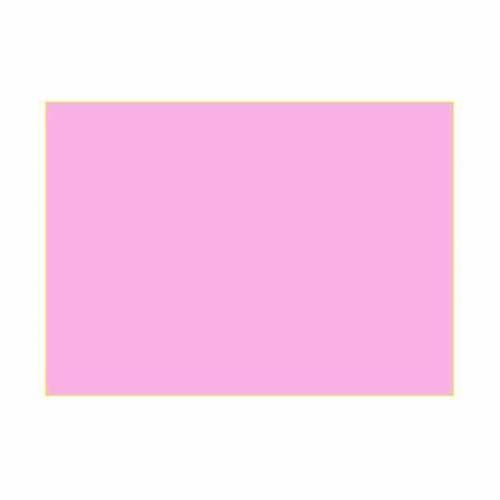 Gélatine pour ampoules 25x30 cm rose vif s1