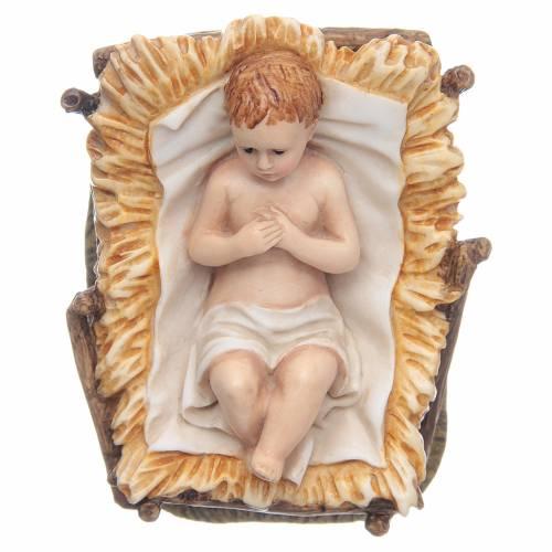 Gesù Bambino 11 cm presepe Landi s1