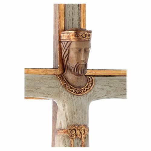 Cristo Sacerdote Re bianco croce bianca s4