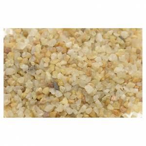 Muschio, licheni, piante, pavimentazioni: Ghiaia presepe color sabbia 300 gr