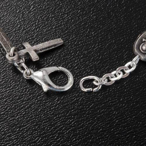 Ghirelli bracelet single decade St. Teresa with roses s4