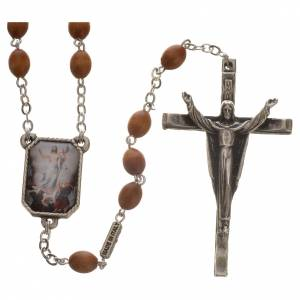 Ghirelli collection rosary beads: Ghirelli chaplet, Way of the Cross 15 stations